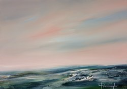 Mietoinen by Lynne Timmington -  sized 23x17 inches. Available from Whitewall Galleries